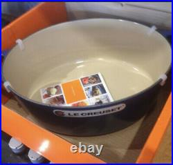 Le Creuset 6.75 qt 6 3/4 French (Dutch) Oven in Cobalt Blue New In Box! Oval