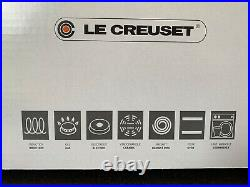 Le Creuset 7.25 Qt Round Signature Dutch Oven- Deep Teal/Bleu Canard -New in Box