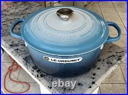 Le Creuset 7.25 RARE Blue Ombre Dutch Oven Cast Iron NEW
