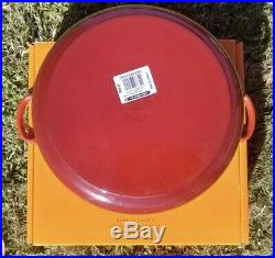 Le Creuset 7.25 qt French (Dutch) Oven in Cerise Cherry Red New In Box