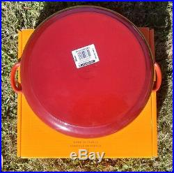 Le Creuset 7.25 qt French (Dutch) Oven in Cerise (Cherry or Red) 7 1/4 28cm