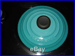 Le Creuset Caribbean Blue Round Dutch Oven 2 Qt 2.0 Qt. #18 Brand New 1.8 L