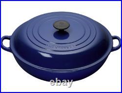 Le Creuset Cast Iron Braiser, 5 qt, Cobalt-Retails $450