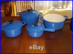 Le Creuset Cast Iron Cookware PRICED 2 SELL