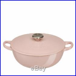 Le Creuset Chiffon Pink Marmite Pot RARE