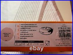 Le Creuset Chiffon Pink Signature Cast Iron Round Braiser 1 1/2 Qt New
