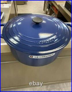 Le Creuset Classic 13.25 Qt Round Dutch Oven Cobalt Blue New In Box
