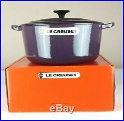 Le Creuset Enamel Cast Iron 5.5 Qt. Round Dutch Oven CASSIS New In Box