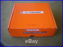 Le Creuset Enameled Cast Iron 1 1/2 Qt Braisier. #22. Marine. New With Box