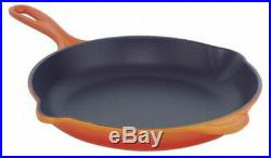 Le Creuset Enameled Cast-Iron 11-3/4-Inch Skillet, (Flame)-Retails-$260