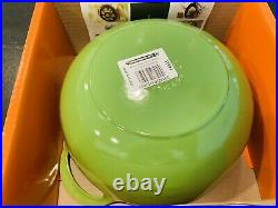 Le Creuset Enameled Cast Iron Balti Dish, Palm Green. New In Box