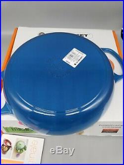 Le Creuset Enameled Cast Iron Braiser 2.25 qt Cookware Dutch Oven Pan see desc