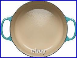 Le Creuset Enameled Cast Iron Signature Braiser, 2.25 qt, Caribbean