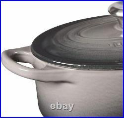 Le Creuset Enameled Cast Iron Signature Oval Dutch Oven, 1 qt, Oyster RP $155