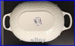 Le Creuset Fleur Oval Oven 3 1/2-qt. Cap. France New No Reserve Auction