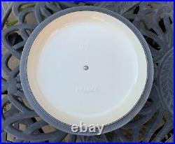 Le Creuset Matte Cotton White Cast Iron Soup Pot 2.5 Qt 22 New