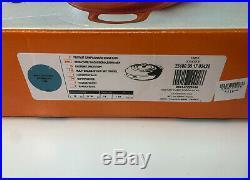 Le Creuset Signature 3½ QT Cast-Iron Braiser Caribbean Blue 30cm 3.5 Quart