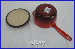 Le Creuset Signature 5-Piece Cast Iron Cookware Set, Cherry