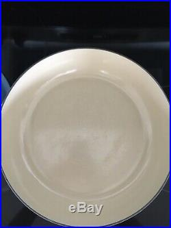 Le Creuset Signature Braiser 3.5 Qt Rare Coastal Blue Color