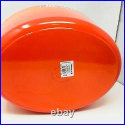 Le Creuset Signature Cast Iron 15 1/2-qt Oval Dutch Oven, Volcanique Flame