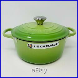 Le Creuset Signature Cast Iron 4 1/2-qt Round Dutch Oven, Palm