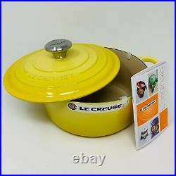 Le Creuset Signature Cast Iron 4 1/2-qt Round Dutch Oven, Soleil