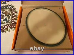 Le Creuset Signature Cast Iron 5 Quart Oval Dutch Oven Turquoise