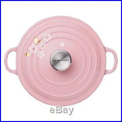 Le Creuset Signature Cast-Iron Cherry Blossom/ Sakura Dutch Oven 4-1/2 qt Pink