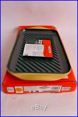 Le Creuset Signature Cast Iron Double Burner XL skinny grill quince yellow