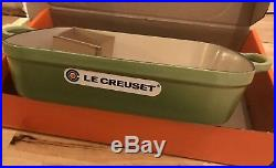 Le Creuset Signature Cast Iron Rectangular Roaster, 33cm Palm