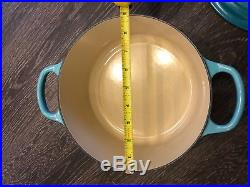 Le Creuset Signature Cast-Iron Round Dutch Oven, 3 1/2-Qt, Caribbean