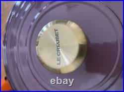 Le Creuset Signature Enameled Cast Iron Braiser, 3.5 Quart Eggplant