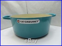 Le Creuset Signature Enameled Cast-Iron7-1/4-QT. Round French(Dutch)OvenCaribbean