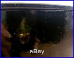Le Creuset Signature Onyx Black Soup Pot Cast Iron 7.5 QT #32