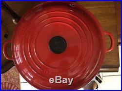 Le Creuset Signature Round Braiser Cast Iron 5 Qt #32 (No Factory Box)
