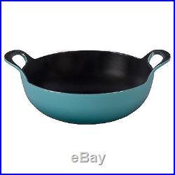 Le Creuset of America Enameled Cast Iron Balti Dish, 3-Quart, Caribbean