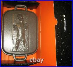Le Creuset x STAR WARS HAN SOLO CARBONITE Roaster Spatulas & Ice Mold New