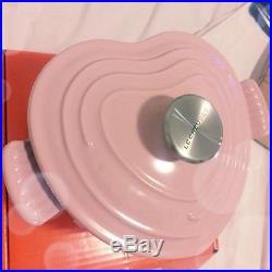 Le crueset Pink Heart Shape Cast Iron Pot