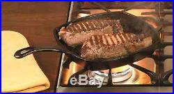 Lodge Cast Iron Grill Pan Pre-Seasoned 10.5inch Square Griddle
