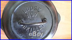 Lodge Cast Iron Skillet Lid No 7 Arc Logo Basting Bullets