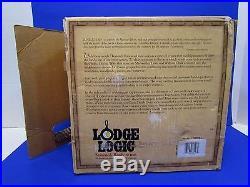 Lodge Co. Lewis & Clark Cast Iron Camp Oven Commemorative 8 Quart 12 Diameter