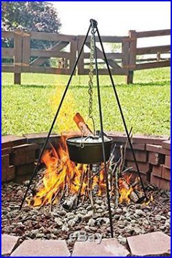 Lodge Deep Camp Dutch Oven, 10 Qt New