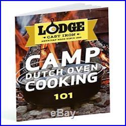 Lodge L12dco3 Deep Camp Dutch Oven 8-Quart New