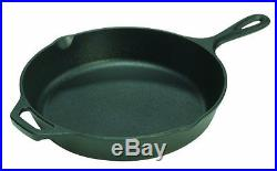 Lodge Pre-Seasoned Cast Iron Kitchen Skillet 10.25 Frying Pan C