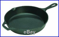 Lodge Pre-Seasoned Cast Iron Kitchen Skillet 10.25 Frying Pan C
