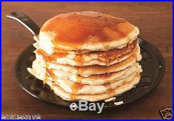 Lodge Pre-Seasoned Round Griddle 10.5-In Cast Iron Frying Pan Pancake Breakfast