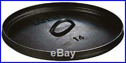 Lodge Preseasoned Cast Iron Deep Camp Dutch Oven Hot Coals USA Cookware 10 Qt
