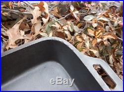 Lodge Vintage Large Fish Fryer/baking Pan Cast Iron