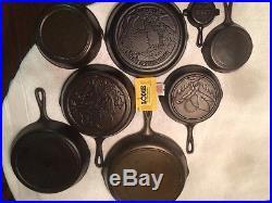 Lodge cast iron set