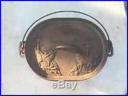 Maca Heavy Cast Iron Dutch Oven Elk